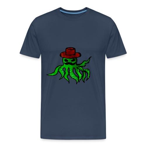 Octopus with hat - Men's Premium T-Shirt