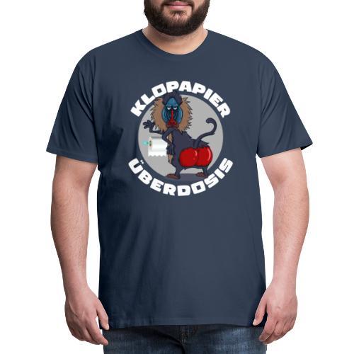 Lockdown Quarantäne Home Office Geschenk Klopapier - Männer Premium T-Shirt