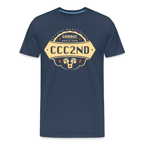 CCC Werkstatt Logo - Männer Premium T-Shirt