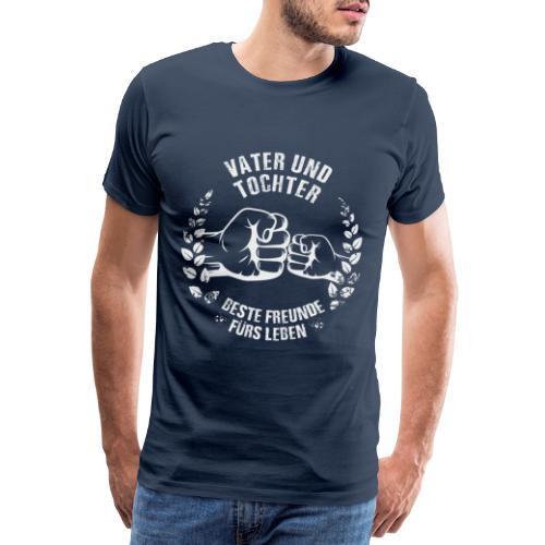 Vater und Tochter Beste Freunde fürs Leben - Männer Premium T-Shirt