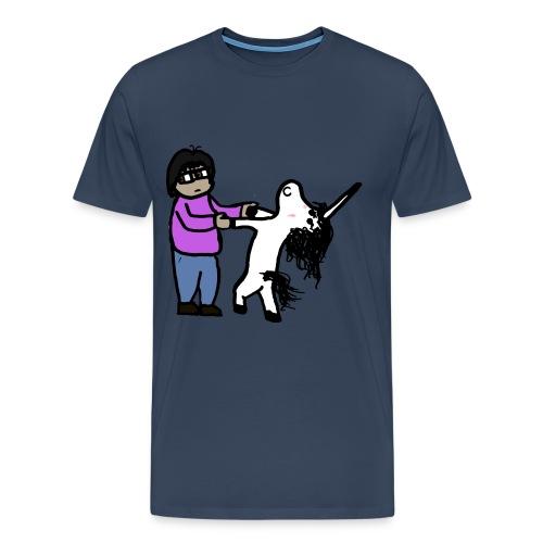 Unicorn Veñ - Maglietta Premium da uomo