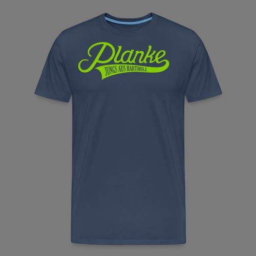 Planke Big Logo - Männer Premium T-Shirt