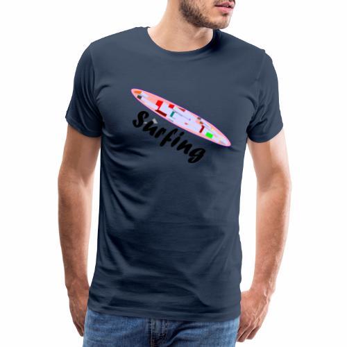 Surfing - Männer Premium T-Shirt