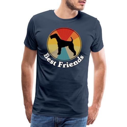 Best Friends - Ich liebe Hunde | Terrier - Männer Premium T-Shirt