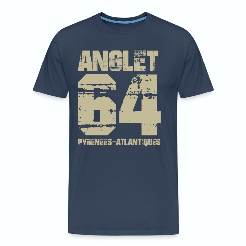 Aquitaine Pyrénées Atlantiques 64 Anglet - T-shirt Premium Homme