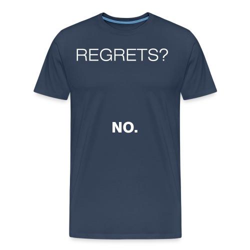 No Regrets - Men's Premium T-Shirt