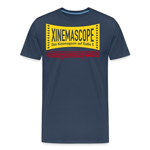 Xinemascope im Kino - Männer Premium T-Shirt