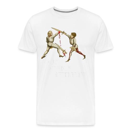 laugh afterblow 3 - Men's Premium T-Shirt