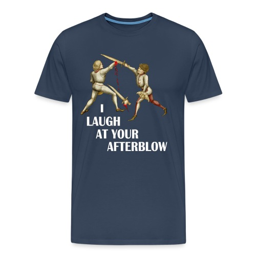 laugh afterblow 3 - Men's Premium T-Shirt