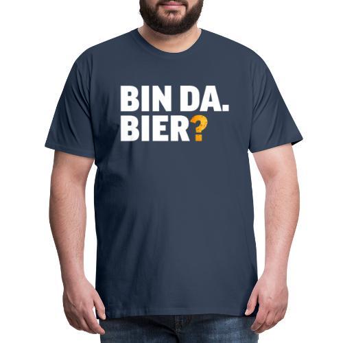 Lustig Bier Party Saufen Alkohol Geschenk - Männer Premium T-Shirt