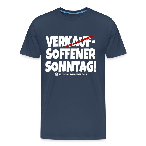 Shirt Sonntag png - Männer Premium T-Shirt