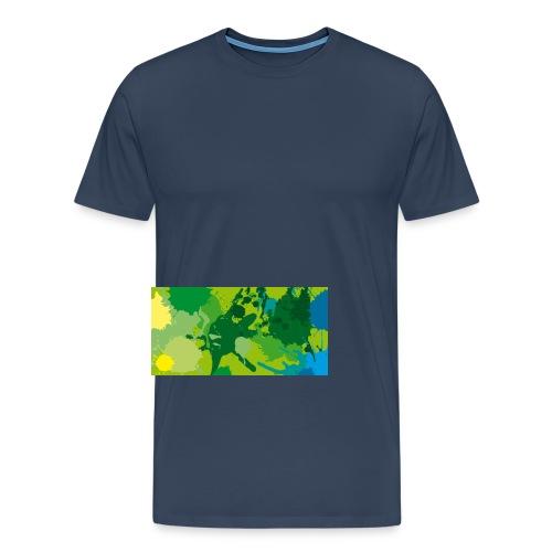 Verde - Camiseta premium hombre