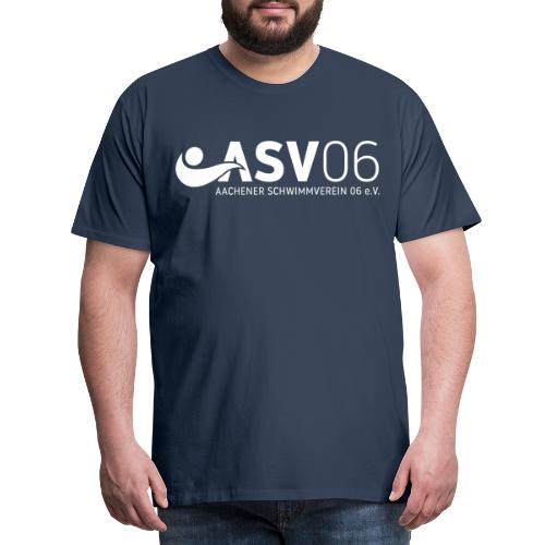 ASV weiss sonderfarbe - Männer Premium T-Shirt