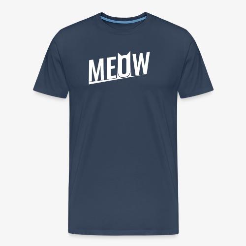 Meow White - Koszulka męska Premium