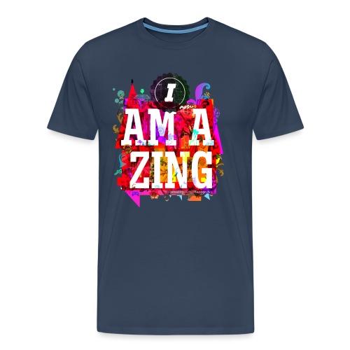 I am Amazing - Men's Premium T-Shirt