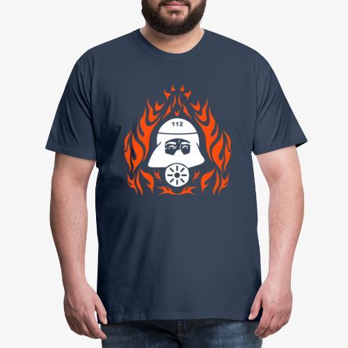 Atemschutz Flamme 2 - Männer Premium T-Shirt