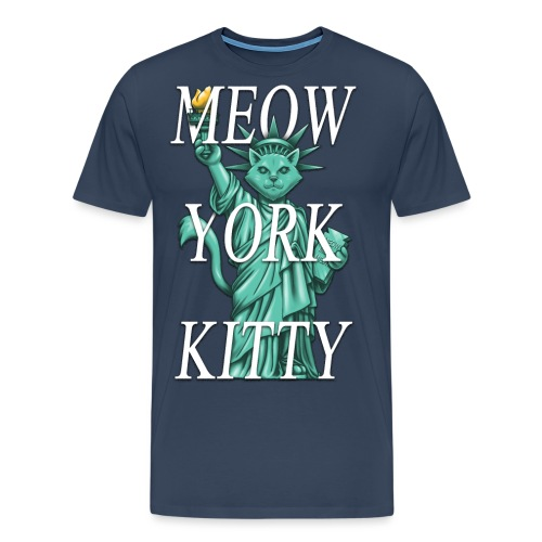 Meow York Kitty - Men's Premium T-Shirt