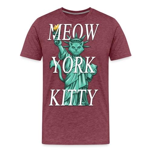 Meow York Kitty - Men's Premium T-Shirt