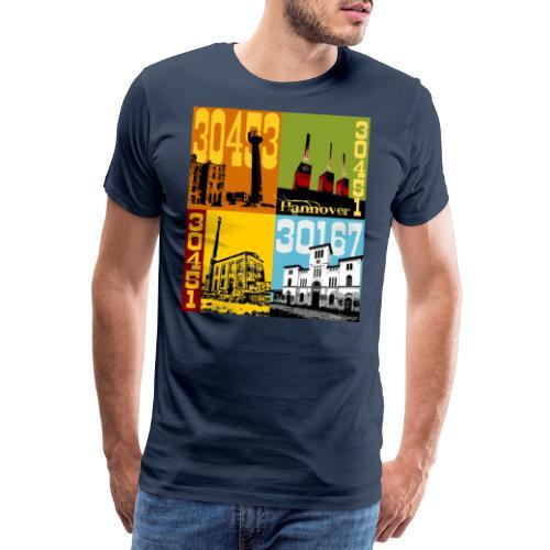 Stadtansichten Hannover Set 02 - Männer Premium T-Shirt