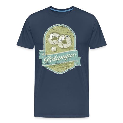 Petanque vintage - T-shirt Premium Homme