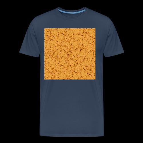 chicken nuggets - Premium-T-shirt herr