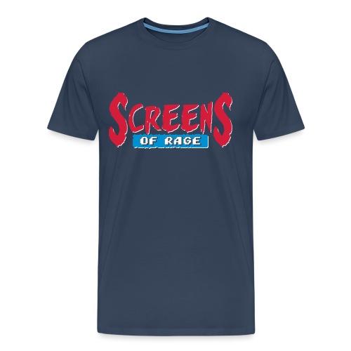 screens of rage - Men's Premium T-Shirt