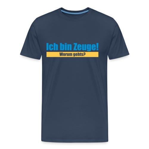 Ich bin Zeuge - Männer Premium T-Shirt