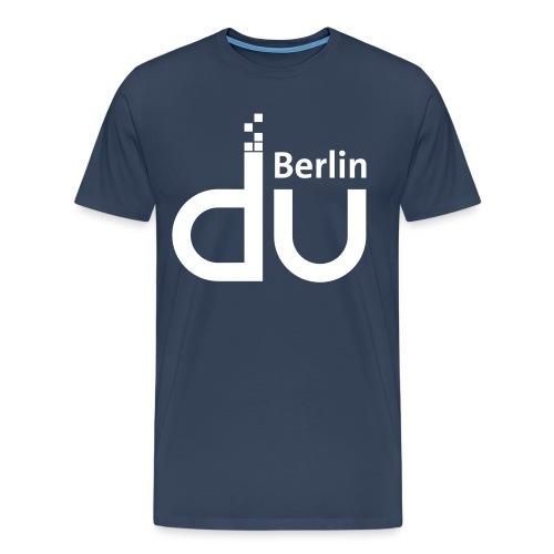 DU Berlin v02 - Männer Premium T-Shirt