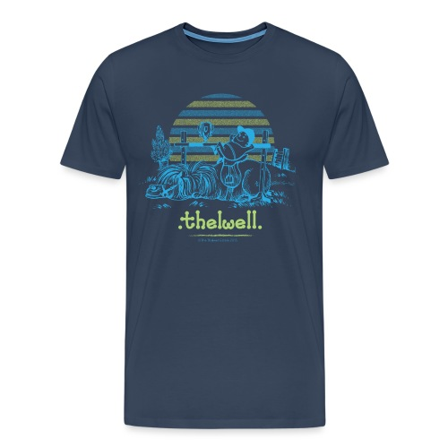 Thelwell Cartoon Pony Sieg - Männer Premium T-Shirt