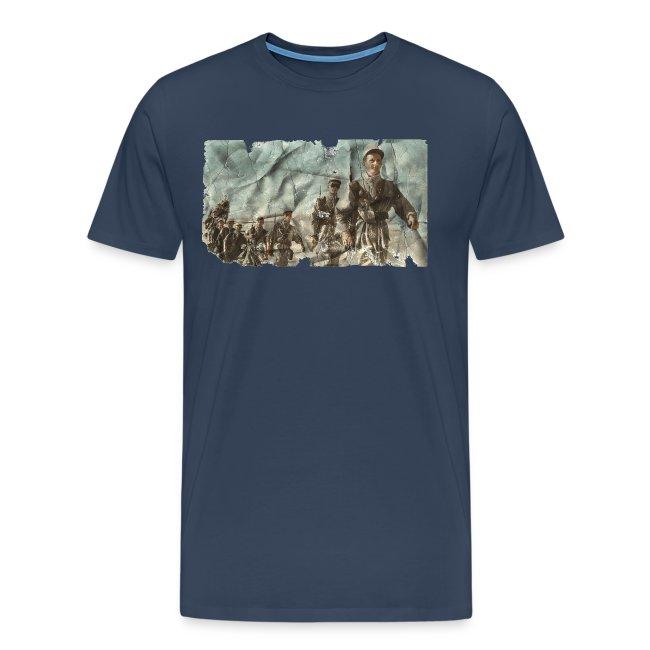 legionnaire desert bleu
