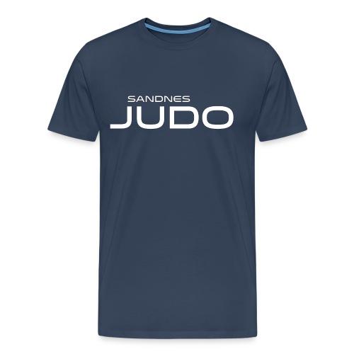 siste fors k logo - Premium T-skjorte for menn