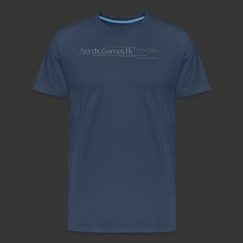 NordicGames.tk Logo - Herre premium T-shirt