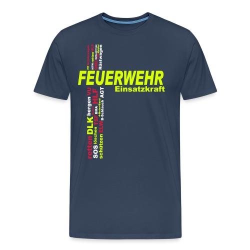 Feuerwehr Einsatzkraft - Männer Premium T-Shirt