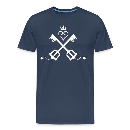 Kingdom Hearts - Männer Premium T-Shirt