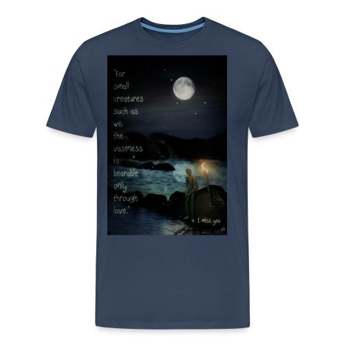 I miss you - Men's Premium T-Shirt