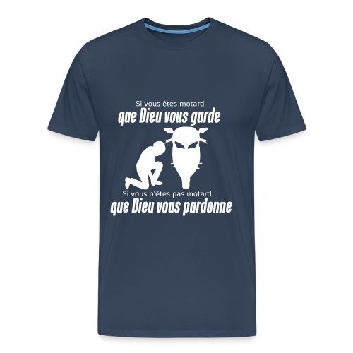 Que Dieu vous pardonne - T-shirt Premium Homme