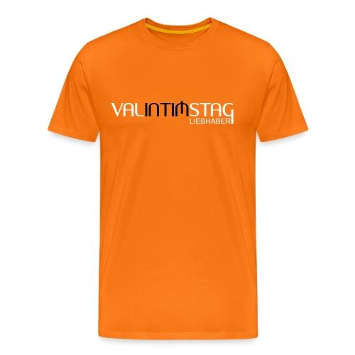 Valintimstag Liebhaber - Männer Premium T-Shirt