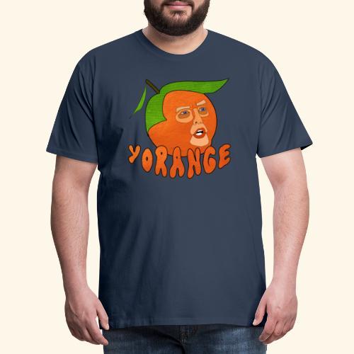Yorange - Premium-T-shirt herr