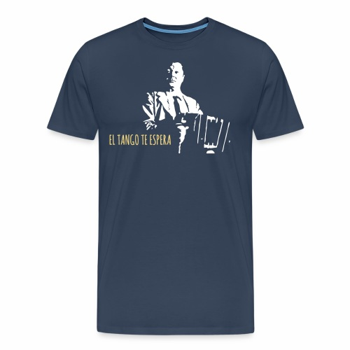 El tango te espera - Men's Premium T-Shirt