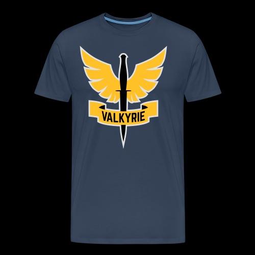 Yellow Valkyrie Logo - Men's Premium T-Shirt