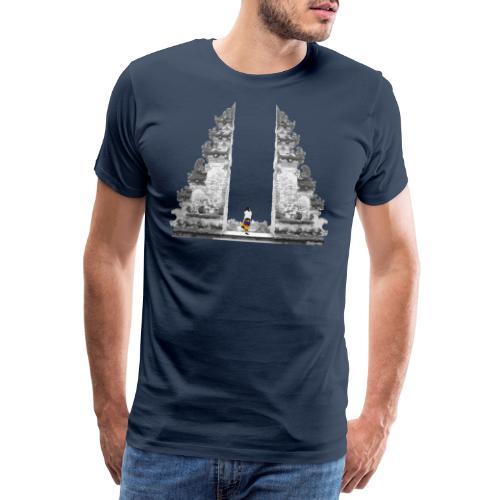 Tempel Bali - Männer Premium T-Shirt