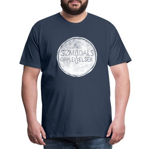 Sømådalsopplevelser - Premium T-skjorte for menn