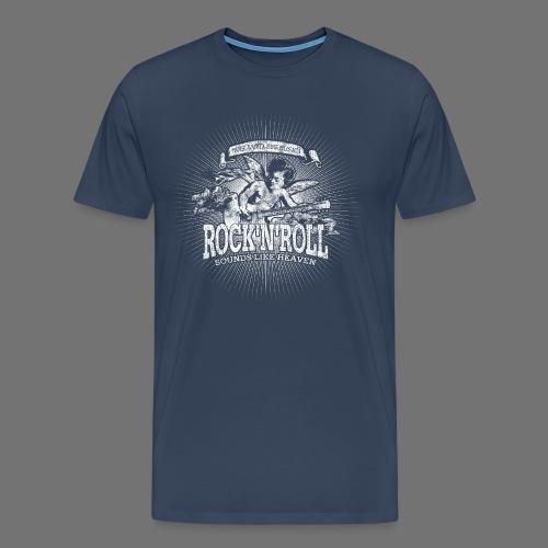 Rock 'n' Roll - Sounds Like Heaven (white) - Men's Premium T-Shirt