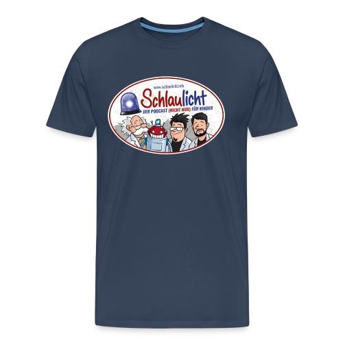 schlaulichter oval - Männer Premium T-Shirt