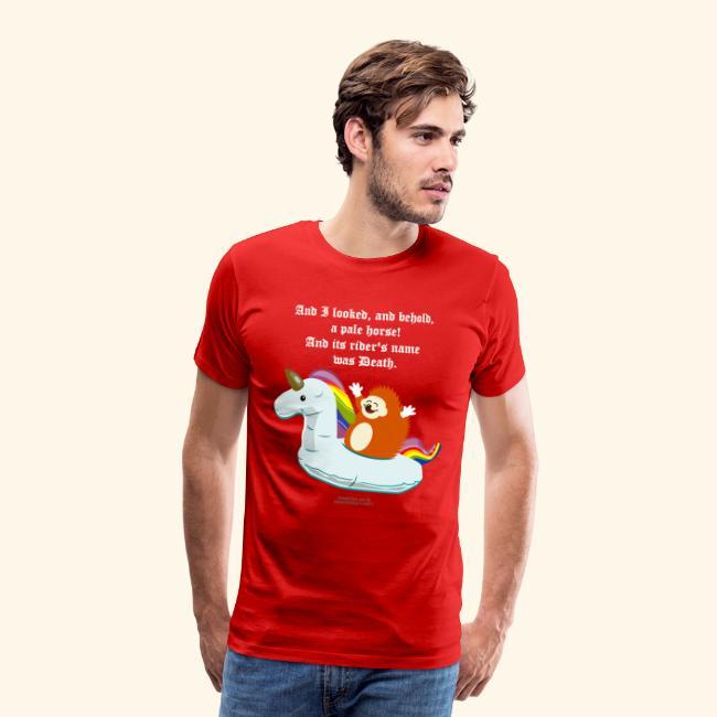 Geek T Shirt Igel, Einhorn & Johannes-Offenbarung