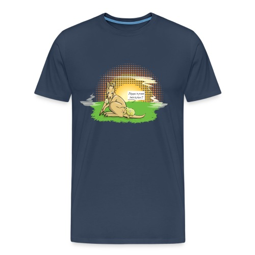 Australie VS Nouvelle Zélande - T-shirt Premium Homme