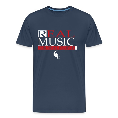 Real Music for Real People - T-shirt Premium Homme