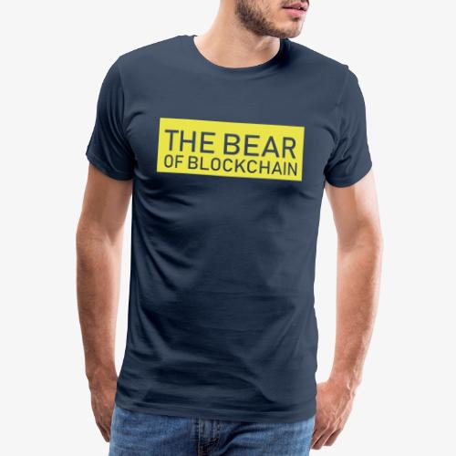 The Bear of Blcokchain - Männer Premium T-Shirt