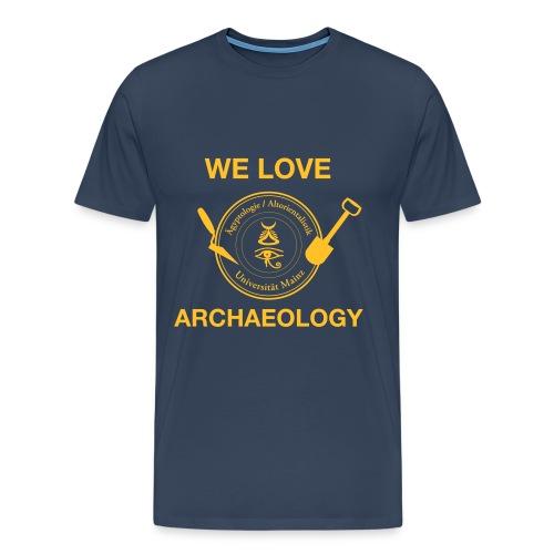 Logo FS Äg AO Archäologie - Männer Premium T-Shirt