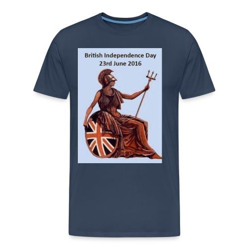B I D jpg - Men's Premium T-Shirt